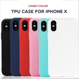 Wholesale Iphone Case Wholesale Free Shipping - For iPhone X 8 Plus Soft Case Ultra Thin Slim Matte Frosted TPU GEL Cover For iPhone X 8 plus 7 6S 6 5S 4.7 5.5 5.8 inch Free Ship MOQ:10pcs