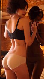 Culottes léopard en Ligne-Sexy Femmes Rembourré Sans Faux Butt Hip Enhancer Shaper Culottes Sous-Vêtements De Mode Zèbre Motif Noir Beige C1423