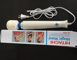 2019 hitachi zauberstab eu Hitachi Magic Wand Massager AV-Vibrator Massagegerät Persönlichen Ganzkörper-Massagegerät HV-250R 110-250V Sex Produkte Vibratoren AU UK US EU-Stecker rabatt hitachi zauberstab eu