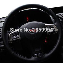 Wholesale Subaru Xv - car Steering wheel sticker for Subaru Forester XV Impreza Legacy Outback