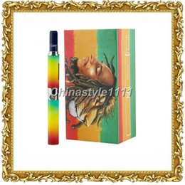 Wholesale Shisha Pen Smoking - New E Cigarette Bob Marley Luxury Box Kit Bob Marley 3 In 1 Vaporizer Pen Dry Herb Tank Shisha Smoking Pen Vaporizer