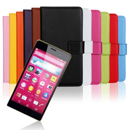 Wholesale Genuine Leather L39h - GENUINE Wallet Credit Card Stand Leather Case For Sony Xperia Z l36h Z1 l39h Z2 Z3 Z4 Z5 Z5 COMPACT Xperia X XA XP 100PC LOT