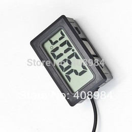 Wholesale Fridge Freezer Temperature - Digital LCD Thermometer Temperature Sensor Fridge Freezer Thermometer
