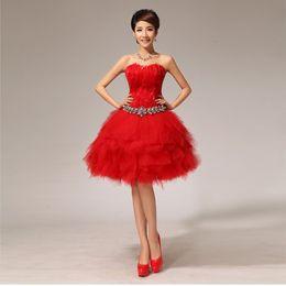 Shanghai histoire robe soirée de soirée robes élégantes robe courte en dentelle hors épaule robe de bal robe de demoiselle d'honneur de plume ? partir de fabricateur