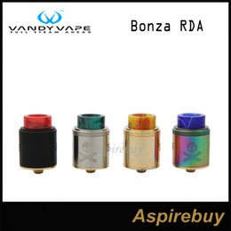 Wholesale Fixing Screws - Vandy Vape Bonza RDA Tank 24mm 2ML Fixed Screw Clamp Post with Dual Coil Design 510 & Squonk Pin Designed by The Vaping Bogan 100% Original