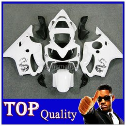 Wholesale Dragon Mold - ABS Plastic Fairing For HONDA CBR 600 F4i 01-03 01 02 03 2002 White Dragon Fit CBR600F4I CBR600 F4i 2001 2003 25F W8