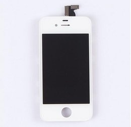 Wholesale Iphone 4s Front Panel - Front Assembly LCD Display Touch Screen Digitizer Replacement Part for iPhone 4&4S DHL Free