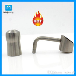 titanium oil bowl Coupons - 18.8 Titanium Nails Titanium Smoking Nail Female 14mm 18mm Universal Titanium Nails Bong Bowls For Smoking Glass Water Pipe Oil Rigs