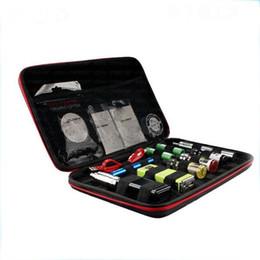 Wholesale Vaping Cases - Newest Vapor Pocket Double Deck Black Vaping bag case carry bag vape Pocket fit all RDA RTA RBA mod