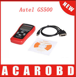 Wholesale Scanners Gs - DHL free shipping super Autel MaxScan GS500 OBDII EOBD Code Reader MAXSCAN GS 500 OBD II EOBD code reader scanner gs500