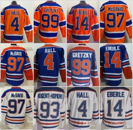 Wholesale Ryan Nugent Hopkins - Cheap Men's 4 Taylor Hall 7 Paul Coffey 14 Eberle 17 Jari Kurri 93 Ryan Nugent-Hopkins Edmonton Ice Hockey Jerseys