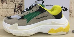 Wholesale S Backpack - 2017 running shoes men women 17fw balenciaga triple-S Sneaker size EUR 36-45