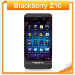 "Teléfono os online-Original Blackberry Z10 Dual Core 4.2 ""TouchScreen 2GB RAM 16GB ROM de la cámara 8.0MP GPS WIFI Desbloqueado Z10 4G LTE restaurado"