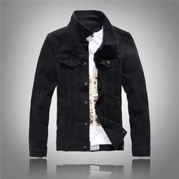 Schwarze jeansjacke manner