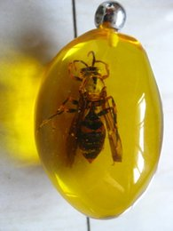 Wholesale Amber Bee - BEST round amber Pendants have bee FREE SHIPPING send airmail