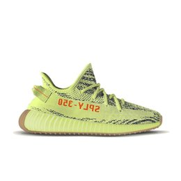Wholesale Golf Shoes For Women - Sply Boost 350 V2 2018 Cheap running shoes for men Beluga 2.0 Orange boost 350 V2 Zebra Cream White Black Red Kanye West Shoes With Box