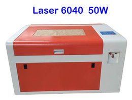 Wholesale Rotary Laser Engraving - 220V 110V LY 6040 CO2 Laser Engraving machine 50W laser CNC router with rotary axis