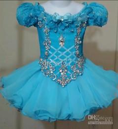 Wholesale National Glitz Dresses - 2014 National Pageant Dress 2 3 4 Beautiful Turquoise Blue! Glitz! pagent pagaent