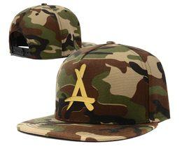 Wholesale Camouflage Ball Caps - Popular Camo THA ALUMNI Camouflage Snapback Hats Snapbacks hats Snapback hat snap backs Hats Baseball caps SG