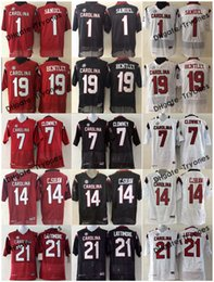 clowney jerseys Coupons - 2017 South Carolina Gamecock 1 Deebo Samuel 19 Jake Bentley 7 Jadeveon Clowney 14 Connor Shaw 21 Marcus Lattimore College Football Jerseys