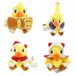 Wholesale plush puppet doll - Wholesale- 6inch Chocobo Final Fantasy plush toys doll