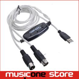Бесплатная доставка продвижение 2m клавиатура к ПК USB MIDI интерфейс адаптер кабель B11 SV001681 MU0670 от Поставщики кабельная одежда
