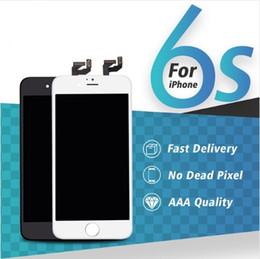 strumento pass Sconti Digitalizzatore display LCD per iPhone 6s 6s Plus Touch Screen 3D completo per iPhone 6 6 Plus Schermo digitalizzatore nero bianco