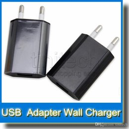 Wholesale Ego Usb Charger 4s - Ego charger ego AC Power Adapter US Plug USB Wall Travel Charger US EU Adapter for IPHONE 4 3G 3GS 4GB 8GB 16GB iPhone 3GS 4G 4S 5
