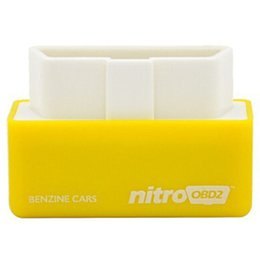 Wholesale Volvo Power Seat - New Arrival NitroOBD2 Benzine Car Chip Tuning Box Plug and Drive OBD2 Chip Tuning Box More Power   More Torque (Yellow Red)