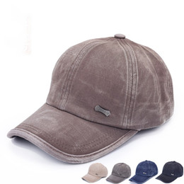 Wholesale Military Cadet Hat Wholesale - Wholesale-New Summer Style Cadet Military Baseball Sport Cap Mens Womens Classic Adjustable Army Plain Hat Hot Selling & Wholesale
