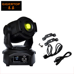 Wholesale Moving Head Led Gobo - 90W Led Moving Head Spot Light DMX 14 Channel Led Gobo Moving Head 90W Electronic Focus 3-Facet Prism Effect 90V-240V
