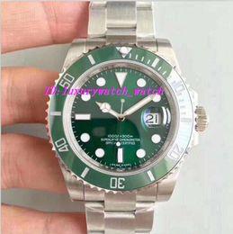 Wholesale Dive Eta - Best V7 Version Noob Factory Mens Automatic Watch Green Ceramic Bezel Swiss Eta 2836 Movement Auto Date Men 116610 Dive Sport