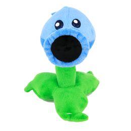 Animais de neve on-line-Plants vs Zombies Plush Toy Stuffed Animal - Snow Pea 17cm / 6.7Inch Alto