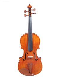 Wholesale Violin Parts - Free Shipping Tianyin Brand 100% Handcraft Adult Solid Wood Violin High-grade Jujube Parts Professional Pattern Violin
