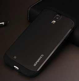 Wholesale Slim Armor Cover S4 - Tough Slim Armor Case For Samsung Galaxy S4 i9500 Phone Cases SIV S IV Back Cover PY