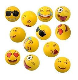 взрослый пул Скидка 500шт пляжный мяч надувной ПВХ Emoji мяч для взрослых детей 12