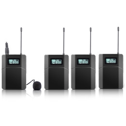 Wholesale Transmitter Receiver Tour Guide - Free shipping 100m Wireless Tour Guide System Used For Tour Guiding Church Teaching 3 Receivers 1 Transmitter With Mic