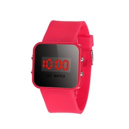 Wholesale Electronic Watch Touch - Fashionable Korean students watch LED touch waterproof couple bracelet girl electronic watch children watch the boy