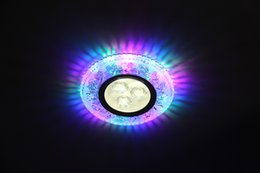 Lampe à résine en cristal côté LED émettant 3W couloir lampe 2.5 pouces downlight intégré fond lampe bovin oeil ? partir de fabricateur