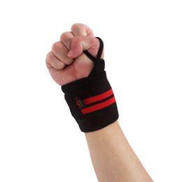Wholesale Thumb Wrist - Sports Wristband Gym Wrist Thumb Support Straps Wraps Bandage Fitness Training Safety Hand Bands