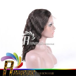 Wholesale Virgin China Lace Wig - Free shipping afro kinky human hair wig & curly wigs for white women hair human wigs wholesale china no shedding