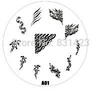 Wholesale Manicure Beauty Care Images - Wholesale-2015 new A Series A01 Nail Art Polish DIY Stamping Plates Image Templates Nail Stamp Stencil Manicure Care Beauty Designs Tools