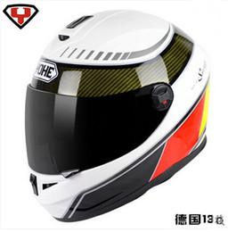 Wholesale Motorbikes Helmets - Eternal helmet YOHE full face motorcycle helmet winter motorcross Motorbike helmet for men and women Send warm neckerchief YH-966