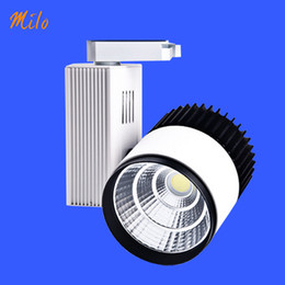 Wholesale Showcase Tracking Light - Top quality LED track light,15W 20W 30W, COB light source,applied to mall shop showcase showroom aisle corridor
