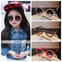Wholesale Sun Glasses For Children - 2015 New Fashion Children Sunglasses Boys Girls Kids Baby Child Sun Glasses Best Gifts For Christmas The new children's sunglasses baby sung