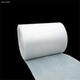 Wholesale Bubble Material - Wholesale-1m * 50cm Bubble Film   Bubble Roll   Shockproof Air Foam Roll   Foam Packaging Material, Packing Wrap For Shipping