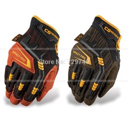 Wholesale Protection Ride Motorcycle - Wholesale-Mechanix CG Impact Pro 4X High-Wear Tactical Combat Riding Motorcycle Racing Cycling Work Protection Knuckle Full Finger Gloves