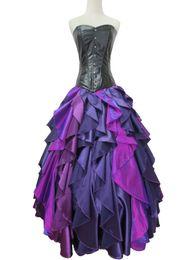 Argentina El más nuevo vestido de la sirena mar bruja Ursula princesa vestido traje de cosplay Suministro