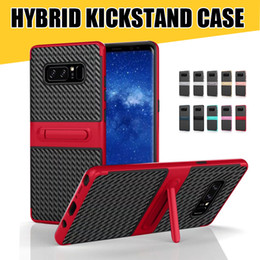 Wholesale Reliable Gold - Expanding Holder Kickstand Cellphone Case for iPhone X 8 7 Reliable TPU PC Phone Shell for Samsung NOTE8 S8 S8plus Huawei P10 Lite