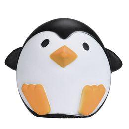 Süße Jumbo Squishy Pinguin Kawaii niedlichen Tier langsam steigenden süß duftenden Vent Charms Brot Kuchen Kind Spielzeug von Fabrikanten